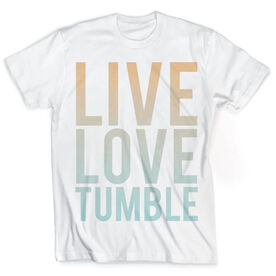 Vintage Gymnastics T-Shirt - Live Love Tumble