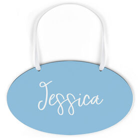 Oval Sign - Personalized Script