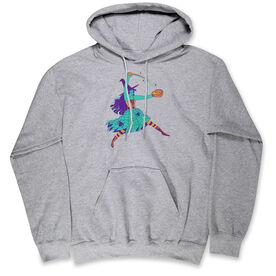 Softball Hooded Sweatshirt - Witch Pitch