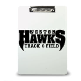 Track and Field Custom Clipboard Track and Field Your Logo
