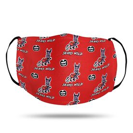 Seams Wild Soccer Face Mask - Mulekick (Pattern)