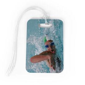 Swimming Bag/Luggage Tag - Custom Photo