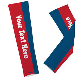 Printed Arm Sleeves Custom Text
