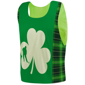 Hockey Pinnie - Shamrock Plaid Player