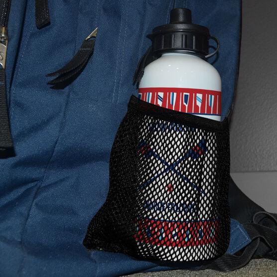 Crew 20 oz. Stainless Steel Water Bottle - Team Crossed Oars