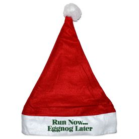 Runners Santa Hat with Santa Mantras
