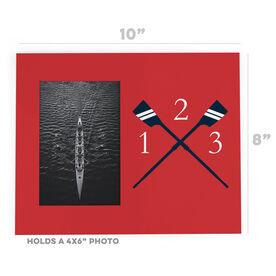 Crew Photo Frame - Custom Rowing Initials