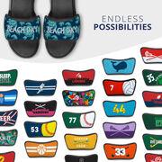 Personalized Repwell® Sandal Straps - Sea Turtles