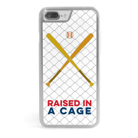 Baseball iPhone® Case - Raised in a Cage