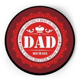 Personalized Circle Plaque - Dad Bottle Cap