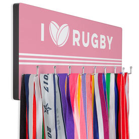 Rugby Hook Board I love Rugby