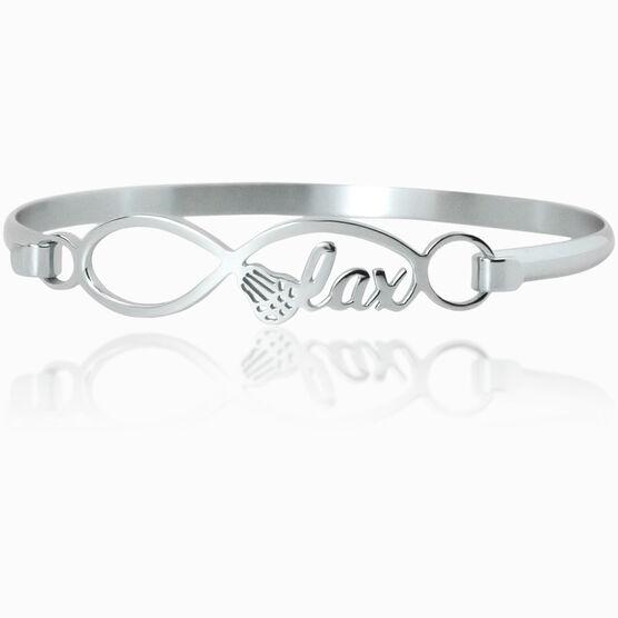 Lacrosse Infinity Stainless Steel Bracelet