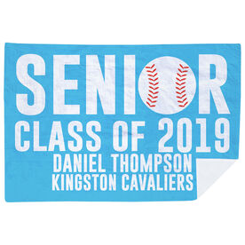 Baseball Premium Blanket - Personalized Senior Class Of