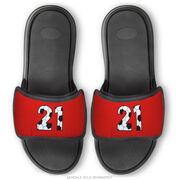 Soccer Repwell® Sandal Straps - Custom Soccer Number