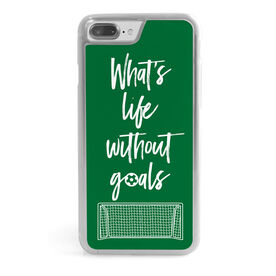 Soccer iPhone® Case - What's Life Without Goals