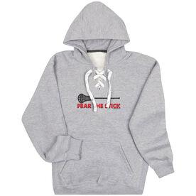 Guys Lacrosse Sport Lace Sweatshirt - Fear The Stick