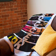 Soccer Premium Blanket - What Life Is All About