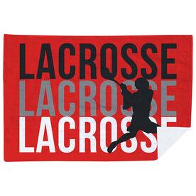 Guys Lacrosse Premium Blanket - Lacrosse Fade