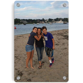 Personalized Metal Wall Art Panel - Custom Photo Vertical