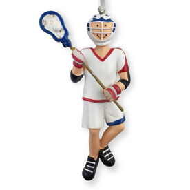 CTS - Lacrosse Player Resin Figure Ornament (Male)