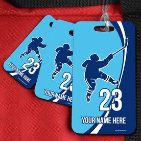 Hockey Bag/Luggage Tag Personalized Hockey Slap Shot