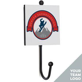 Snowboarding Medal Hook - Your Logo