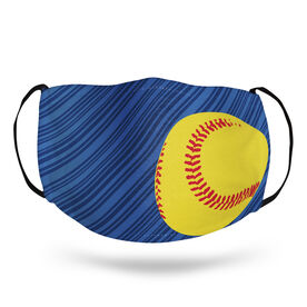 Softball Face Mask - Lightning Softball