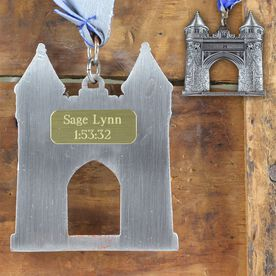 Medium Custom RaceSTATS Engraved Medal Plate