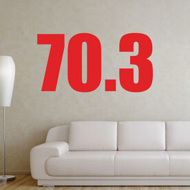 70.3 Removable TRIForeverGraphix Wall Decal
