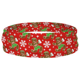 Running Multifunctional Headwear - Gingerbread Man Runner RokBAND
