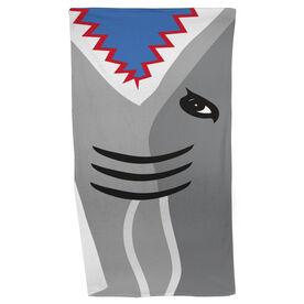 Swimming Beach Towel Shark Attack