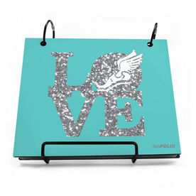 BibFOLIO® Race Bib Album - Winged Foot Love