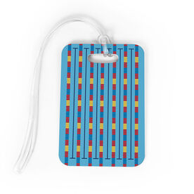 Swimming Bag/Luggage Tag - Lanes