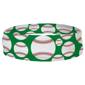 Baseball Multifunctional Headwear - Tossed Ball Pattern RokBAND