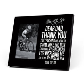 Triathlon Photo Frame - Dear Dad