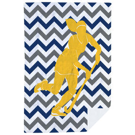 Field Hockey Premium Blanket - Watch Me Score