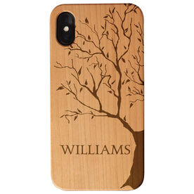 Personalized Engraved Wood IPhone® Case - Tree