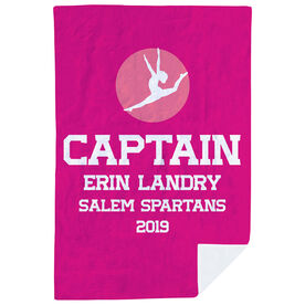 Gymnastics Premium Blanket - Personalized Captain