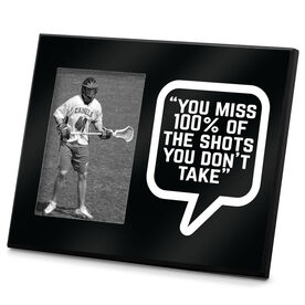 Lacrosse Personalized Photo Frame Quote