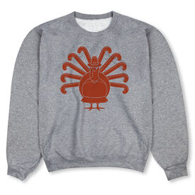 Field Hockey Crew Neck Sweatshirt - Turkey Player