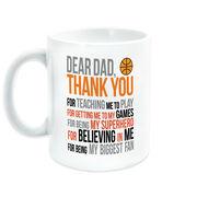 Basketball Coffee Mug - Dear Dad