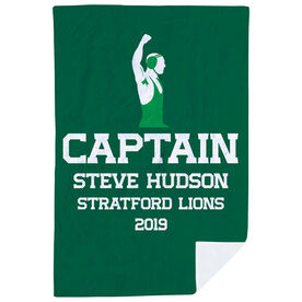 Wrestling Premium Blanket - Personalized Captain