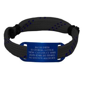 Hockey ID Lace Bracelet