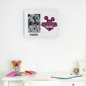 Cheerleading Photo Frame - Custom Logo