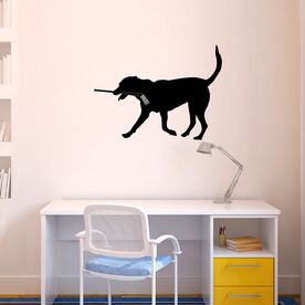 Hockey Dog Removable ChalkTalkGraphix Wall Decal