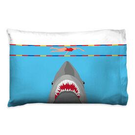 Swimming Pillowcase - Shark Attack (Girl Swimmer)