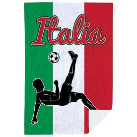 Soccer Premium Blanket - Italy Soccer