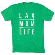 Girls Lacrosse Short Sleeve T-Shirt - Lax Mom Life