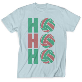 Vintage Volleyball T-Shirt - Ho Ho Ho