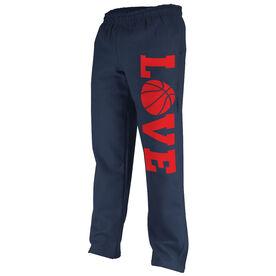 Basketball Fleece Sweatpants Basketball Love